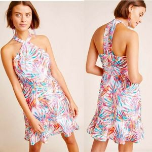 NWT Anthropologie | Hutch Maui Halter Dress